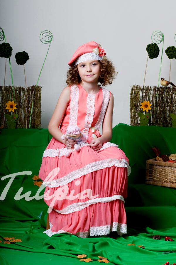 Пышные платья для принцесс и просто маленьких модниц.
